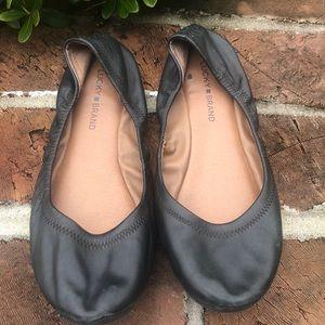 Lucky brand Emmie black ballet flats size 9.5